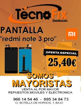 Pantalla Redmi note 3 Pro