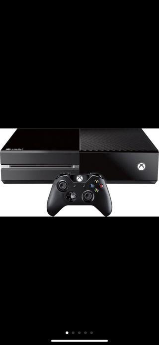 Vendo Xbox one de 500 GB con un mando y 5 juegos