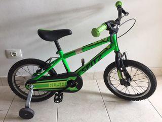 Bicicleta para niños 4-7 años