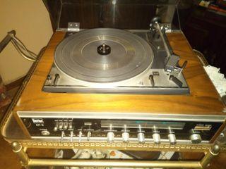 Tocadiscos / amplificador Vintage EF5