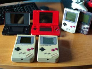 Lote de consolas GameBoy y Nintendo DS