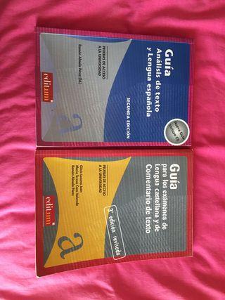 Guía análisis de texto y lengua española