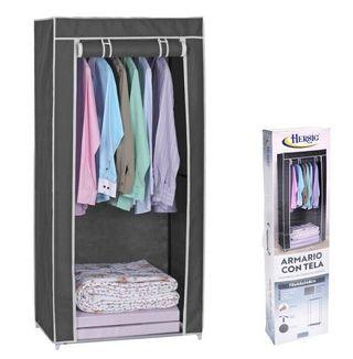 Armario de tela ropero estante lona ropa