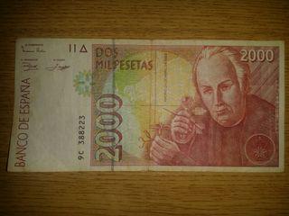 Billete dos mil pesetas. MUY BUEN ESTADO