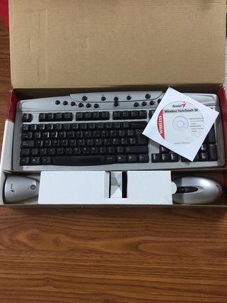 Ratón y teclado inalámbrico Genius