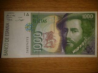 Billete mil pesetas. MUY BUEN ESTADO