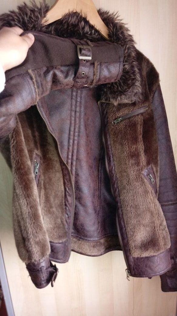 cazadora pelo piel s.pull& bear L