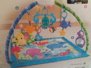 Manta de actividades para bebes