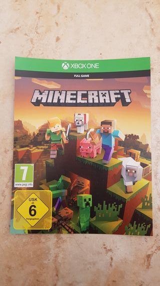 Juego Minecraft + extras para Xbox one