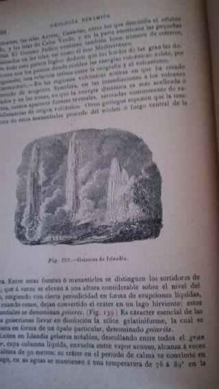 Historia Natural, Geología y Mineralogía de 1893