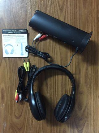 Auricular inalámbrico FM Hi-Fi nuevo