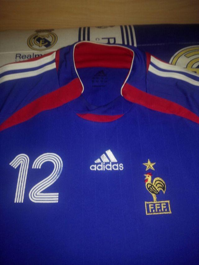 camiseta futbol francia f.f.f