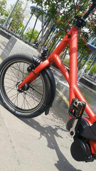 kalkhoff bicicleta eléctrica alemana Compact i8