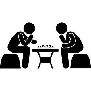 Vinilo decorativo ajedrez