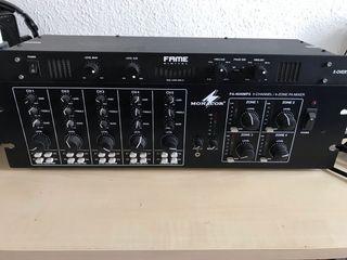 Monacor amplificador mezclador
