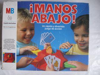 juego de mesa ¡Manos abajo! de mb piezas sueltas