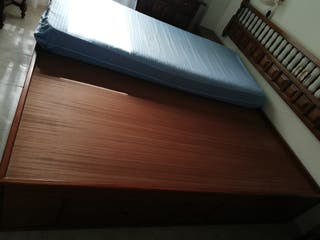 canapé cama madera