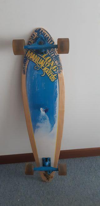 Manual longboard.
