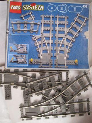 lego system en caja 4531 tren trenes ferrocarril