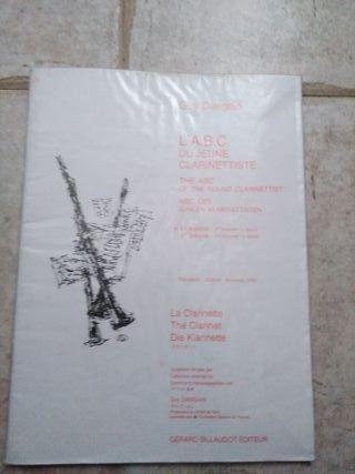 L'ABC du jeune clarinettiste Vol.1 (clarinete)