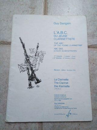 L'ABC du jeune clarinettiste. Vol. 2 (clarinete)