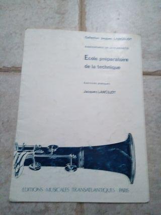 Ecole préparatoire de la technique, para clarinete