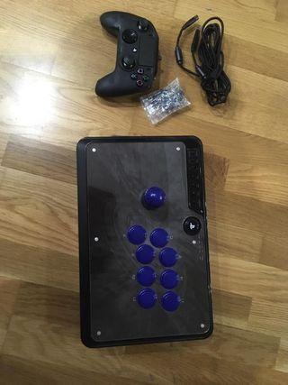 Mando Nacon Revolution 2 y mando arcade venon Ps4