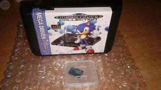 Cartucho Everdrive Sega Mega Drive +8GB