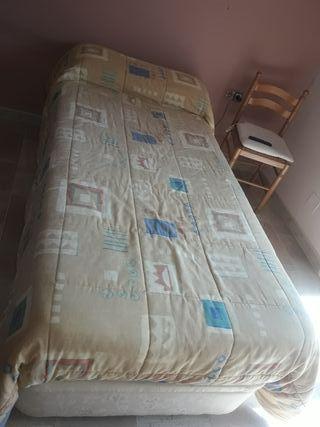 Canapé abatible y colchón