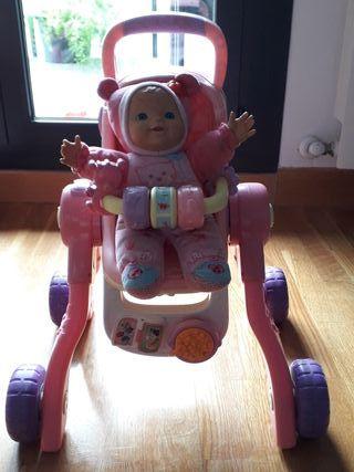 andador correpasillos carrito muñeca