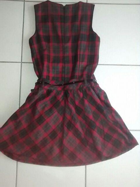 robe a carreaux enfant