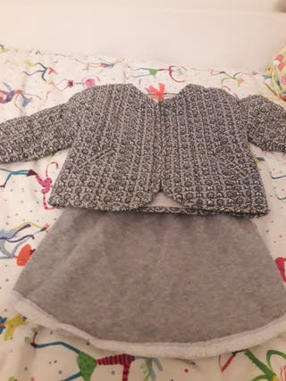 conjunto falda y chaqueta Arsene et les papilletes