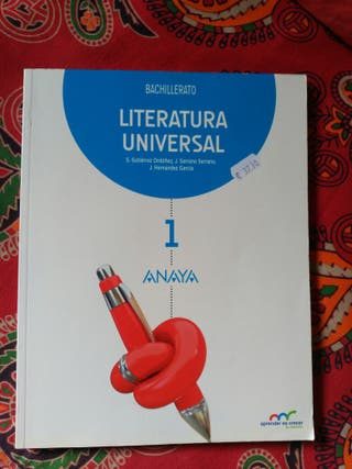 Literatura Universal 1° BAC Anaya