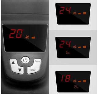Radiador eléctrico de bajo consumo