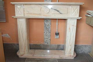 Embocadura de chimenea hecho en Mármol Portugués
