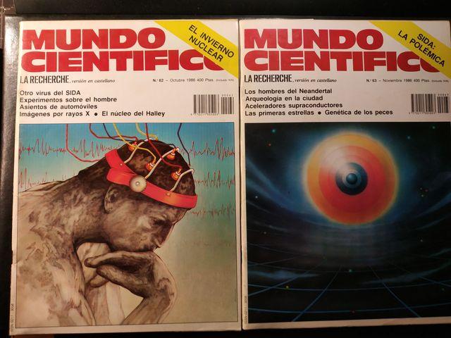 Mundo Científico (La Recherche) lot 1986