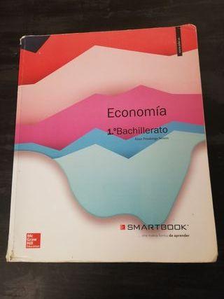 Libro Economía. 1° Bachillerato.