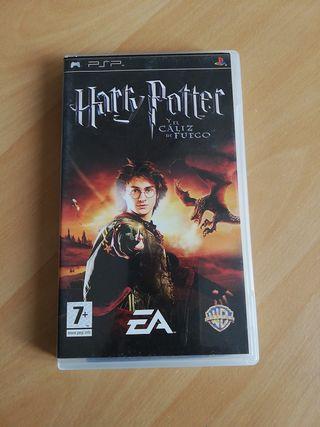 Harry Potter y el cáliz de fuego psp