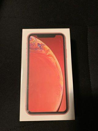 iPhone xr 128Gb coral precintado libre