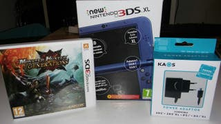 New Nintendo 3DS XL Azul Metálico