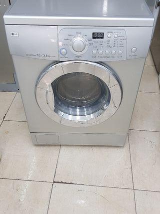 lavadora con secadora marca LG 7KG RPM 1400