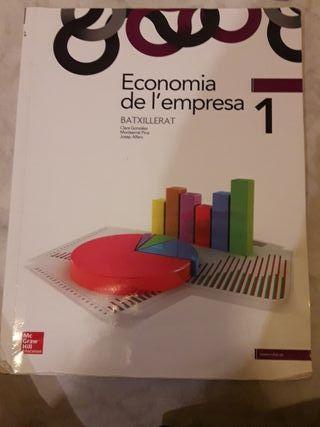 Libro economia de empresa 1o bachillerato