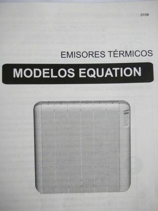 Radiador Electrico Equation