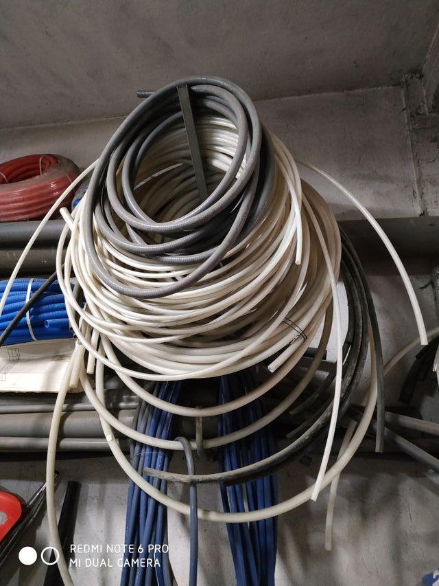 tubo de pvc, polietileno