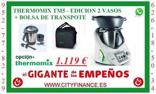THERMOMIX TM5 A ESTRENAR CON DOS VASOS Y BOLSA