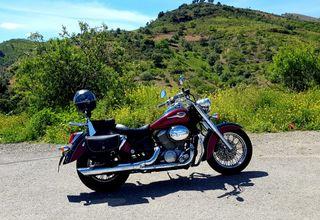 moto Honda Shadow classic