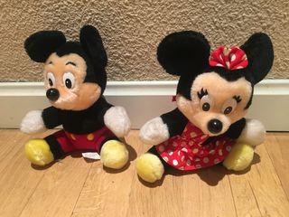 Pareja Peluches Micky & Minnie Disney