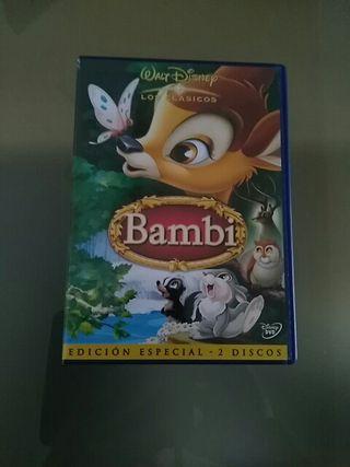 dvd Bambi edicion especial 2 discos