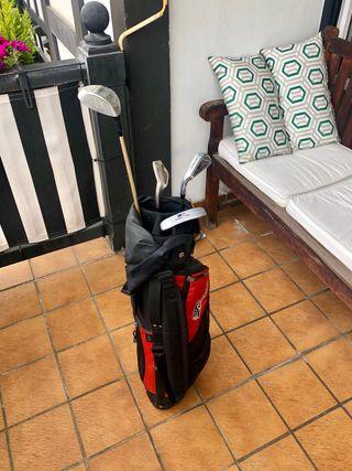 Palos golf niño zurdo