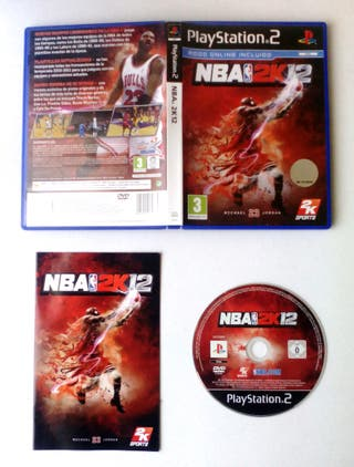 NBA 2K12 PS2 COMPLETO